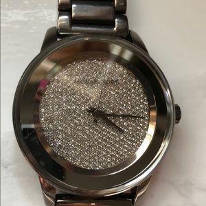 Michael Kors MK6244 glitz stainless steel watch